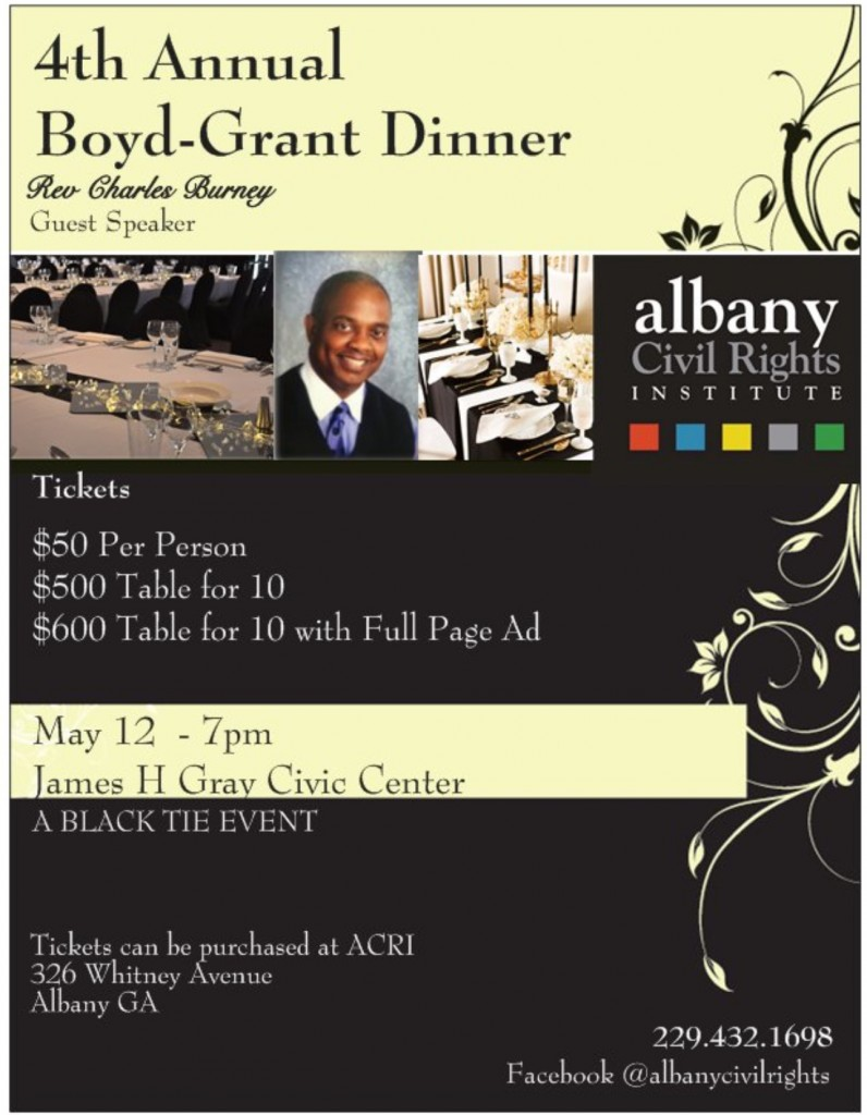 Civil RIghts Dinner