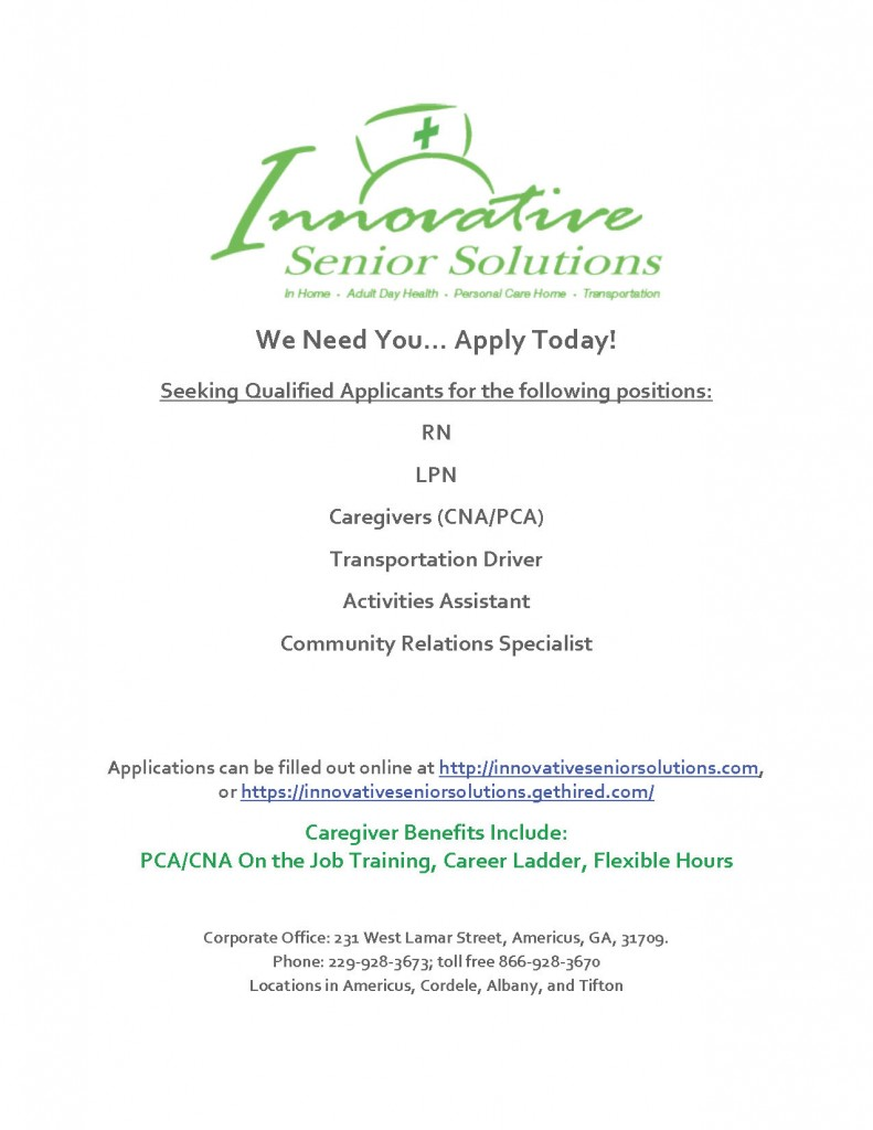 Job Oportunity Flyer