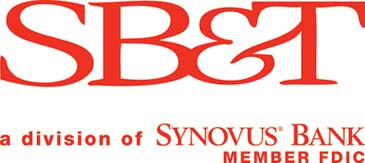 SB&T logo with descriptor