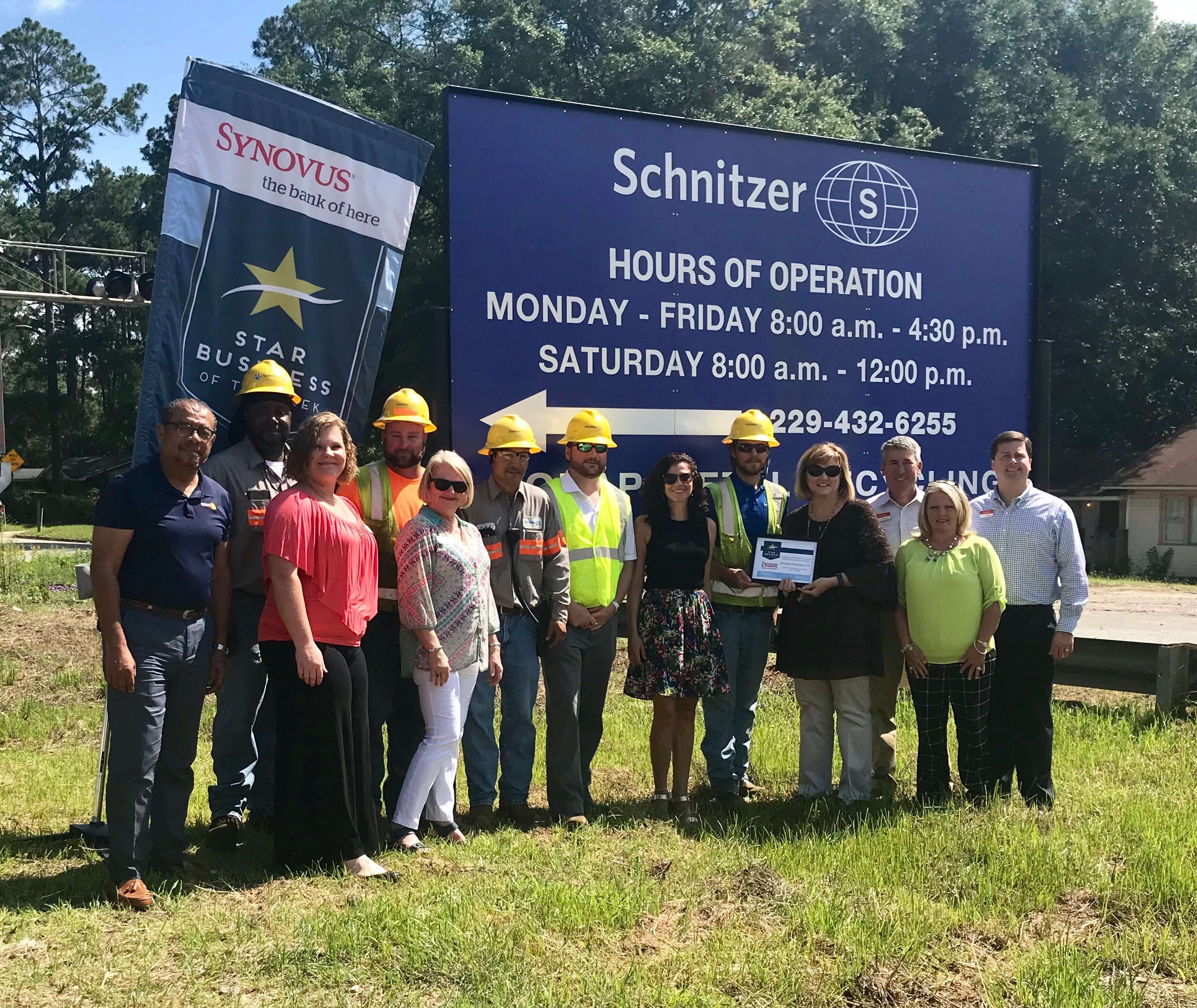 SCHNITZER STEEL LLC Albany Area Chamber Of Commerce - Schnitzer scrap yard